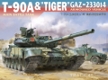 "Suyata NO002: 1/48 T-90A & GAZ ""Tiger"" Armoured Vehicle"