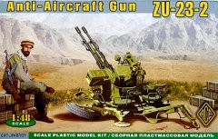 Ace 48101: 1/48 Anti-Aircraft Gun ZU-23-2