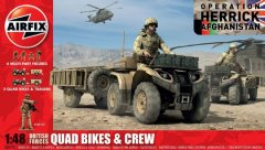 Airfix A04701: 1/48 British Forces Quad Bikes & Crew