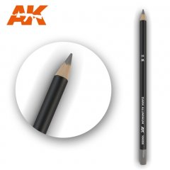 AK 10035: Weathering Pencil - Dark Aluminum Nickel
