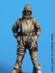 BlackDog A48005: 1/48 German WWI Pilot - Winter