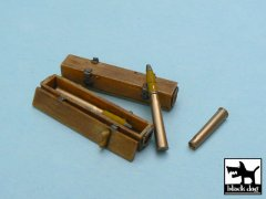BlackDog T48012: 1/48 Tiger l Ammo Boxes