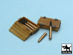 BlackDog T48013: 1/48 Pz.Kpfw.IV Ammo Boxes