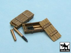 BlackDog T48014: 1/48 King Tiger Ammo Boxes