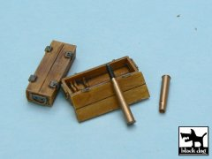 BlackDog T48015: 1/48 Panther Ammo Boxes