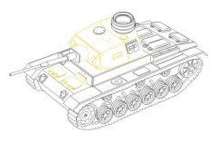 CMK 8018: 1/48 Pz.III Ausf.J Late conversion