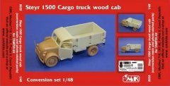 CMK 8035: 1/48 Steyr 1500 Cargo Truck Wood Cab conversion
