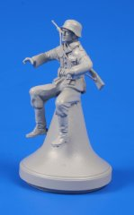 CMK F48299: 1/48 German WWII Motorcycle Rider