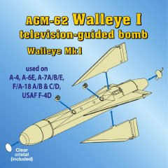 Astra Resin ASR4801: 1/48 AGM-62 Walleye I