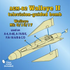 Astra Resin ASR4802: 1/48 AGM-62 Walleye II