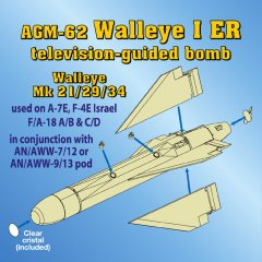 Astra Resin ASR4803: 1/48 AGM-62 Walleye I ER