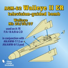 Astra Resin ASR4804: 1/48 AGM-62 Walleye II ER