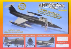 DACO DCC4802: 1/48 F-104 Starfighter Improvement Set