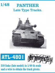 Friulmodel ATL-4801: 1/48 PANTHER Late Type Tracks