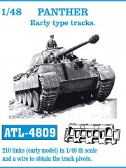 Friulmodel ATL-4809: 1/48 PANTHER Early type tracks