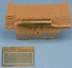 GasoLine GAS48084PE: 1/48 Grid Muffler for Marder III