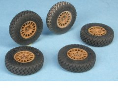 GasoLine GAS48117K: 1/48 Land Rover WMIK Wheels