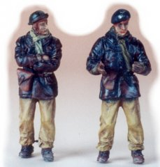 GasoLine GAS50300: 1/48 French tank crew 1939-40 (2)
