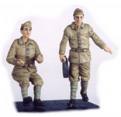 GasoLine GAS50301: 1/48 French driver and mechanic 1939-40 (2)