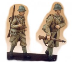 GasoLine GAS50302: 1/48 French infantrymen 1939-40 (2)