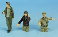 GasoLine GAS50305: 1/48 US tank crew 1944-45