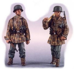 GasoLine GAS50316: 1/48 German Panzergrenadiers 1944-45 (2)