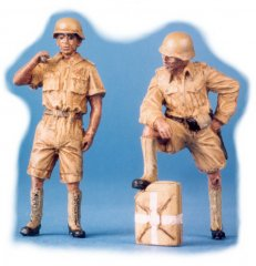 GasoLine GAS50317: 1/48 DAK infantrymen in shorts (2)