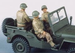 GasoLine GAS50318: 1/48 US jeep crew (3)
