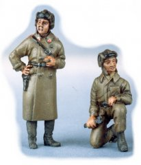 GasoLine GAS50319: 1/48 Russian tank crew (2)