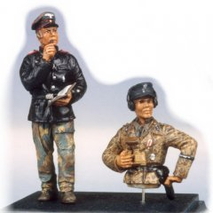 GasoLine GAS50321: 1/48 German tank crew Normandy 1944