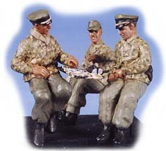 GasoLine GAS50326: 1/48 German Kubelwagen crew (3)