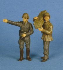 GasoLine GAS50329: 1/48 German crew for 75 mm PaK 40 set 2