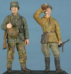 GasoLine GAS50334: 1/48 German officer and radio Normandy 1944