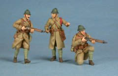 GasoLine GAS50339: 1/48 French infantry group 1939-40 (3)