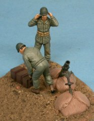 GasoLine GAS50356: 1/48 US crew with mortar 4.5 inch