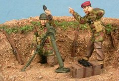 GasoLine GAS50360: 1/48 Red Devils mortar crew - Arnhem 1944 (2)