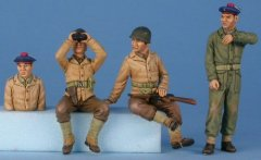 GasoLine GAS50361: 1/48 US and French TD M-10 crew
