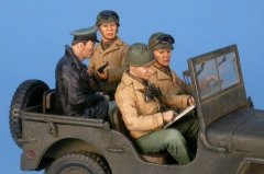 "GasoLine GAS50363: 1/48 US MP with German officer prisoner for ""Jeep"""