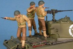 GasoLine GAS50364: 1/48 US crew
