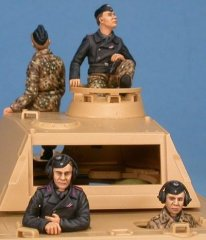 GasoLine GAS50365: 1/48 German Panther tank crew