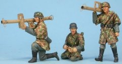 GasoLine GAS50368: 1/48 German tank hunters with Panzerschreck Hauler