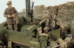 GasoLine GAS50373: 1/48 Universal Bren carrier crew Europe 1944/45