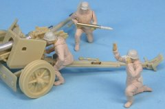 "GasoLine GAS50382: 1/48 German crew for 75 mm Pak40 anti-tank gun ""in action"" Normandy 1944"