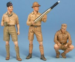 "GasoLine GAS50384: 1/48 German crew ""in supply"" DAK"