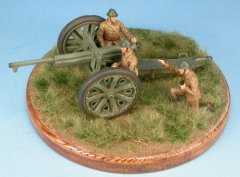 GasoLine GAS50389: 1/48 French crew for 75mm anti-tank gun Schneider