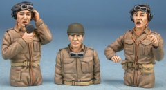 GasoLine GAS50395: 1/48 British tank crew Europe 1944-45