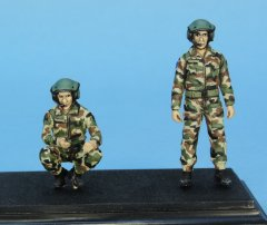 GasoLine GAS50405: 1/48 French tank crew 2017