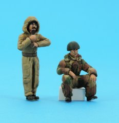 GasoLine GAS50410: 1/48 British Tank Crew in winter uniforms