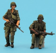 GasoLine GAS50412: 1/48 US Infantry, Vietnam