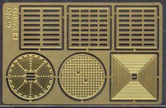 Hauler HLX48017: 1/48 Grilles and Manholes